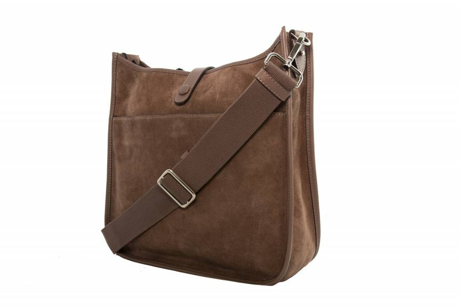 Decadent Kylie Cross Body Suede Nougat